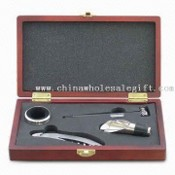 4-piece Wine Set with Waiters Knife and Thermometer images
