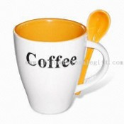 Ceramic Coffee Cup with Bake Printing Logo images