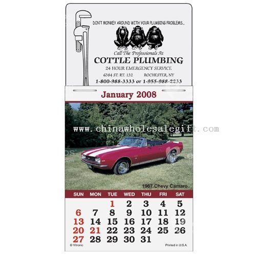 Magna-Stick Calendar - Cruisin Cars