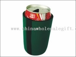 Can cooler with tape