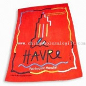 Cotton Printed Velour Towel with Embroidery Logo images