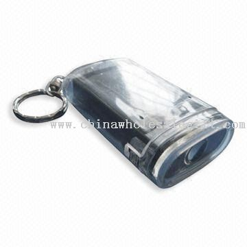 Fashionable Solar Keychain with LCD Keyring