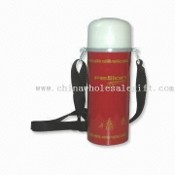 750ML Vacuum Water Bottle with Carrying Strap and Capacity of 750mL images