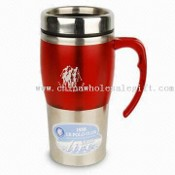 Car Mug Water Bottle with 450ml Capacity and Silkscreen Printing images