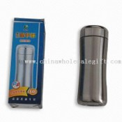 Stainless Steel Vacuum Cup/Bottle with Silkscreen Printing Logo images