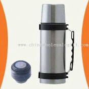 Stainless Steel Vacuum Flask for Travel Use with Different Stoppers images