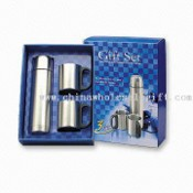 Vacuum Flask and Mug Gift Set with Volume of 500 and 220mL images