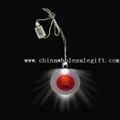 Flashing LED Necklace with 50mm Diameter Round Pendant images