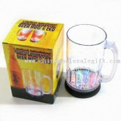 LED Flashing Beer Mug with 800mL Capacity images