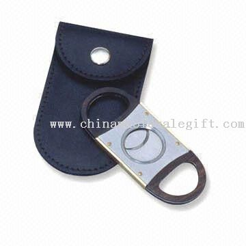 Cigar Cutter with Matte ABS Finger Casing and 9cm Size