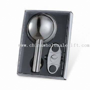 Cigar Gift Set with Ashtray and Cutter