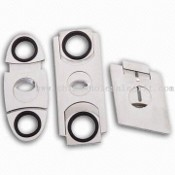 3 Pieces Stainless Steel Cigar Cutter images