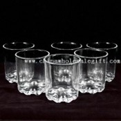 9oz Glass Beer Mug Set with Bottom Diameter of 70mm images