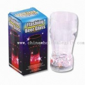 Flashing Beer Glass Cup images