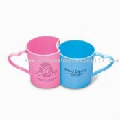 Promotional Plastic Cups with Force Plug Design and 300mL Capacity images