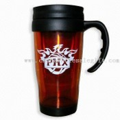 16oz Double-walled Plastic Mug images