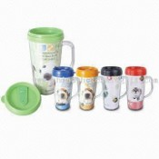 Double-wall Plastic Travel Mugs images