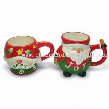 Ceramic Santa Claus Design Mug