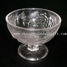 Ice Cream Cup Made of Clear Glass images