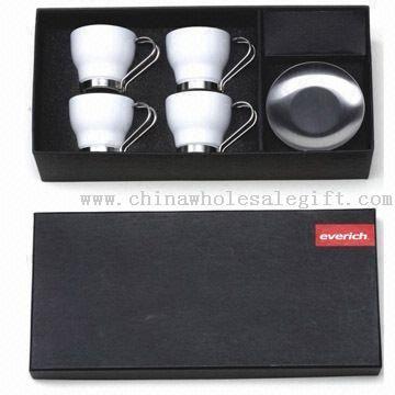 Four-piece Ceramic Mug Set