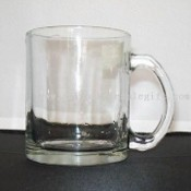 Glass Mug with 12oz Capacity images
