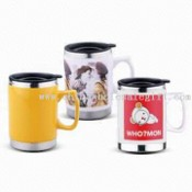Stainless Steel/Ceramic Mugs images