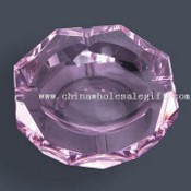 Crystal Purple Ashtray with Diamond-edged images