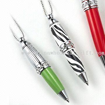 Crystal Pens with Keychain