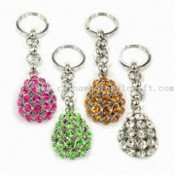 Keychains, Decorated with Czech Crystals images