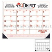 Desk Pad Calendar with Vinyl Corners images
