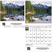 Landscapes of America 13 Month Appointment Calendar images