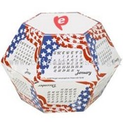 Pop Up Calendar - Stars & Stripes images