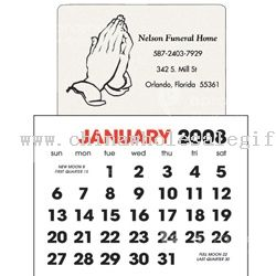 Praying Hands Stick Up Calendar