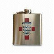 Stainless steel shiney-finish Hip Flask images
