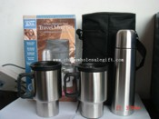 Vacuum Flask and Travel Mugs with Volume of 500mL and 14 Ounce images