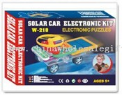 Solar Toy Car Electronic Building Block images