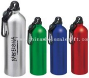 SPORTS WATER BOTTLE with compass carabiner images