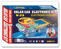 Solar Toy Car Electronic Building Block