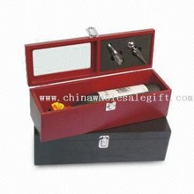 Wine Wooden Box with Accessories images