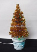 USB Gold PVC Xmas tree with Fiber images