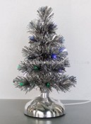USB Silver PVC Xmas tree with Fiber images