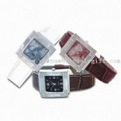 Fashion Watches with PU Leather Band images