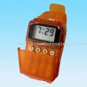 LCD Watch with Radio and Eight Digit Calculator images