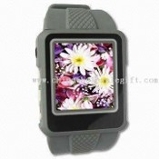 MP4 Watch Player with Voice Recorder and FM Car Radio images