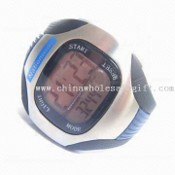 Pedometer Watch with Hour Chime and Daily Alarm images