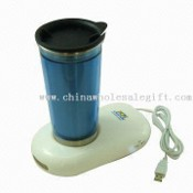 Plug and play Promotional USB Cup Warmer Cooler images