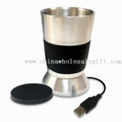 Stainless Steel Tumbler with USB Cup Warmer images