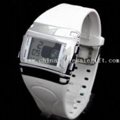 Watch with Water Resistant and Digital LCD Screen images