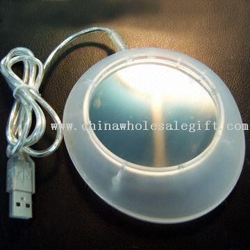 USB Accessory with Stainless Steel Heater Plate and 2 LED Lights