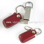 Leather usb flash drive images
